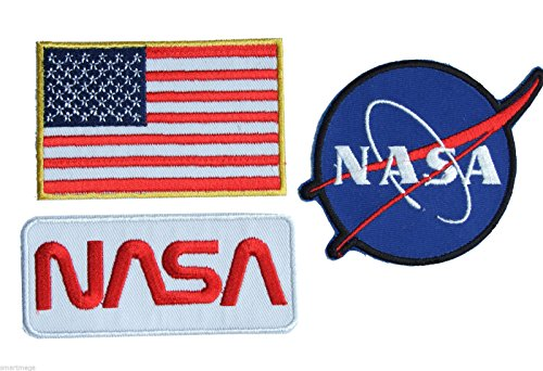 nasa-space-shuttle-pilot-iron-on-patch-super-set-01-aufnaher-bugelbild-iron-on-patches-applikation-n