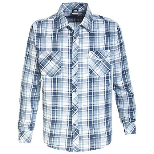 Blu Blu Fulford Camicia Uomo Assegno Sconfinamento 0q5ZX