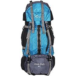 Da Tasche Climb High 90L Sky Blue Rucksack