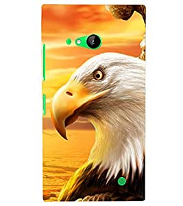 PRINTSHOPPII EAGLE Back Case Cover for Nokia Lumia 730::Microsoft Lumia 730::Microsoft Lumia 735