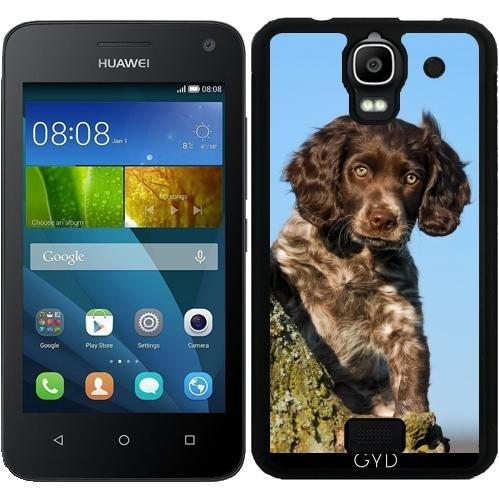 SilikonHülle für Huawei Y360 - Niedlich Deutsch Spaniel Hundewelpe by Katho Menden