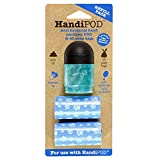 HandiPOD Scented Hand Sanitiser with 2 Refill Rolls, Sea Breeze, Blue
