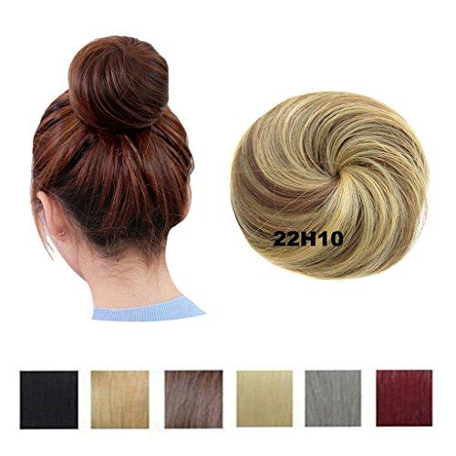 Prettywit extension chignon chignons piece hairpiece scrunchy scrunchie updo ribbon ponytail