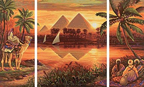 Schipper Pyramids on the Nile, Multi Color