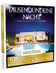 SMARTBOX - Geschenkbox - TAUSENDUNDEINE NACHT - 535 Aufenthalte: 1 oder 2 Nächte, Frühstück, 1 Dinner oder Spa in 3* oder 4* Hotels