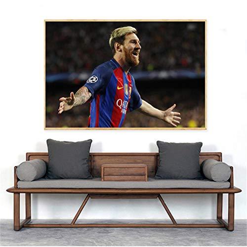 Taoyuemaoyi Deporte Cartel De La Lona Lionel Messi