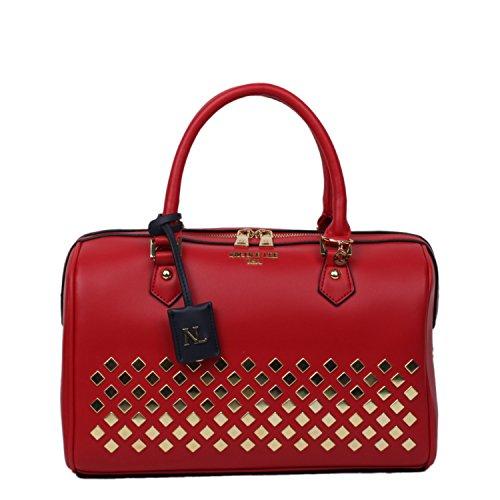 nicole-lee-rowan-diamond-studded-boston-bag-red