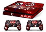 Skin PS4 AC MILAN ULTRAS CALCIO - limited edition DECAL COVER Schutzhüllen Faceplates playstation 4 SONY BUNDLE