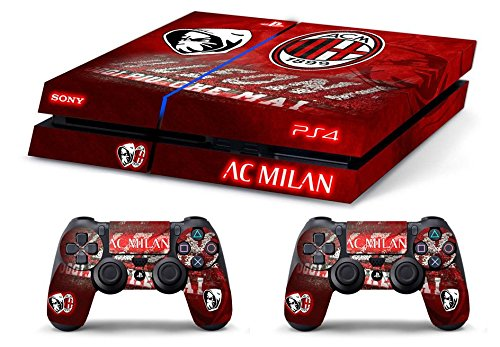 Skin PS4 AC MILAN ULTRAS CALCIO limited edition DECAL COVER ADESIVA
