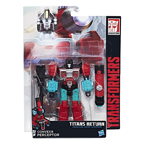 Hasbro C1092ES1 - Transformers Generations Deluxe Perceptor Solid, Actionfigur - Transformers G1 Serie