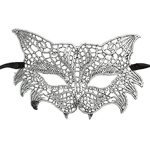 Eigene Kostüm Sie Machen Zombie Ihre - Oyedens Schnüren Sie Sich Maske Halloween-Maskeradeprinzessin-Schutzbrillen-SpaßSchläGermaske Maskerade Lace Mask Catwoman Halloween Ausschnitt Prom Party Maske Zubehör