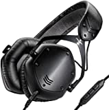 V-Moda Crossfade LP2 Remote Over-Ear Headphones with Inline Volume Control - Matte Black Metal