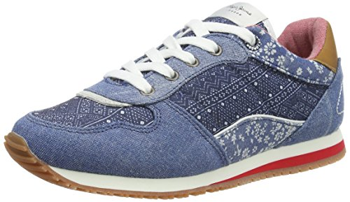 Pepe Jeans Sydney Indigo, Sneakers Basses Fille
