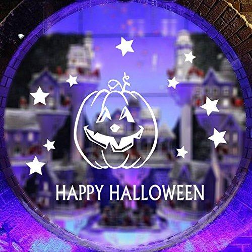 [usa-sales] Halloween Fenster klammert sich an Auswahl, Kürbis Kopf, Happy Halloween Sticker, by usa-sales Verkäufer (