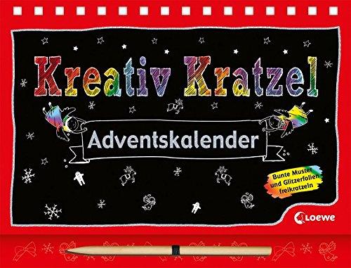 Kreativ-Kratzel-Adventskalender (Kreativ-Kratzelbuch) (Frauen Beläge Für)