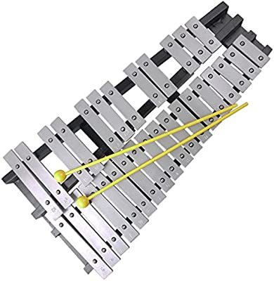Mr.Power® 30 Notes Foldable Glockenspielsl Xylophone Vibraphone Percussion Instrument