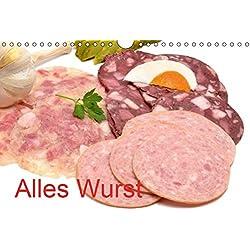Alles Wurst (Wandkalender 2019 DIN A4 quer): Wurstwaren (Monatskalender, 14 Seiten ) (CALVENDO Lifestyle)