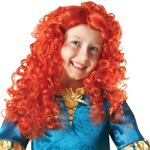 Karneval Kinder Perücke Brave Merida zu Fasching (Kostüm Erwachsene Brave Merida Für)