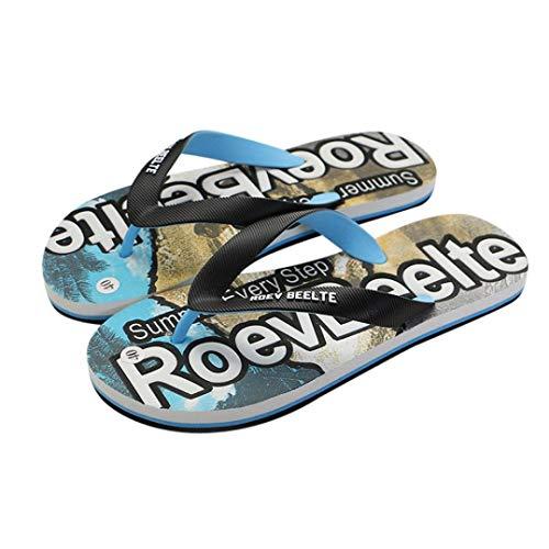 Flip, infradito uomo, honestyi beach - ciabatte infradito per spiaggia e piscina slim sandali scarpe da spiaggia, comodi sandali ortopedici per alleviare il dolore al piede