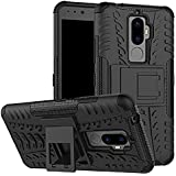 For Lenovo K8 Plus (September 2017 Launch - 5.2 INCH),ZYNK CASE Hybrid Armor Design Detachable And Stand-up Feature Dual Layer Protective Shell Hard Back Cover Case For Lenovo K8 Plus-Space Black
