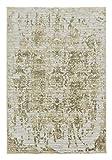 Brilliance Antik beige 6670 183 006 - Webteppich - Schöner Wohnen - Brücke, Teppich, Läufer. 4 Designs in 4 Grössen. Elegant, verwaschene Beige-Töne, used look, Kurzflor, hoch-tief Struktur, pflegeleicht, antistatisch, fussbodenheizungsgeeignet. (160 x 230 cm)