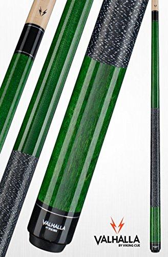 viking Valhalla 2-teiliges Pool-Queue Stick mit Irish Linen Wrap, grün -