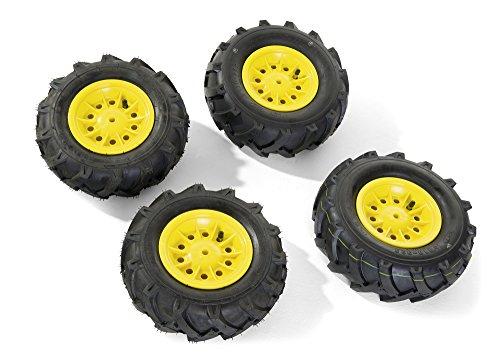 Preisvergleich Produktbild Rolly Toys 409303 - Luftbereifung für Traktor gelbe Felge