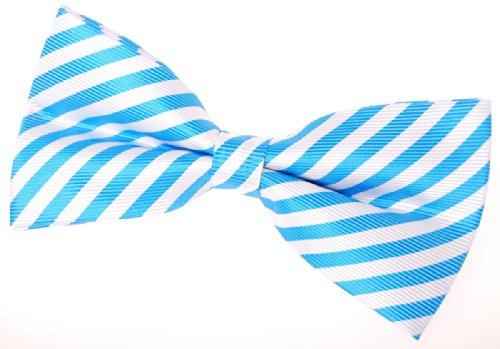Retreez - Nœud papillon - Homme Bleu - blau und weiß
