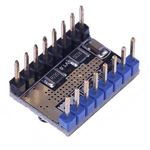 asiproper 3D Drucker lv8729Stepper Motor Driver Mute Modul + Kühlkörper - Papier-control-board