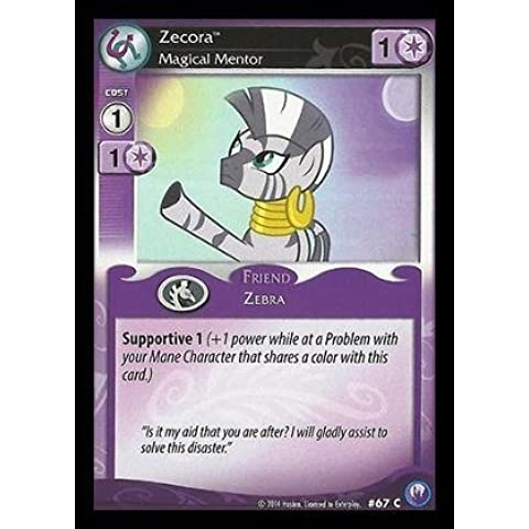 My Little Pony CCG - Zecora, Magical Mentor (67) - Canterlot Nights by My Little Pony