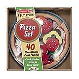 Filz-Lebensmittel-Set für Pizza