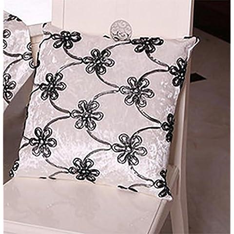 Oficina sosteniendo que el sofá fundas fundas bordadas ropa de cama