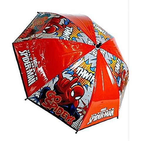 + PARAGUAS SPIDERMAN ultimate go Nuevo!! DISEÑO año 2016 en exclusiva y salvamantel decorado con imagen spiderman