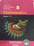 TEXT BOOK FOR INTERMEDIATE FIRST YEAR MATHEMATICS PAPER 1B