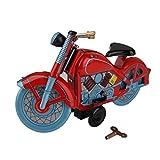 Rotes Motorrad Eingereicht Blechspielzeug