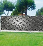 Frangivista decorativo, personalizzato, in metallo, rif. 3674, 80%, 200x78cm
