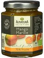 Alnatura Bio Selection Mango Marille Fruchtsaufstrich, 70% Frucht, 200 g