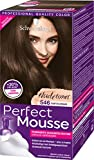 Schwarzkopf Perfect Mousse Permanente Schaumcoloration, 546 Sanftes Braun Stufe 3, 3er Pack (3 x 93 ml)