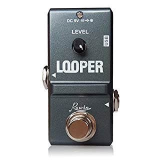 Rowin LN-332 Nano Looper Guitar Loop Effects Pedal True Bypass