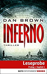 Inferno - Prolog und Kapitel 1: Thriller (German Edition)