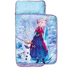 ReadyBed 412FON - Sábana enrollable súper cómoda con diseño Disney Frozen, color morado