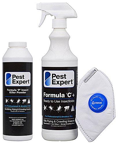 pest-expert-formula-c-bed-bug-killer-spray-1ltr-and-formula-p-bed-bug-killer-powder-xl-pack-size-300