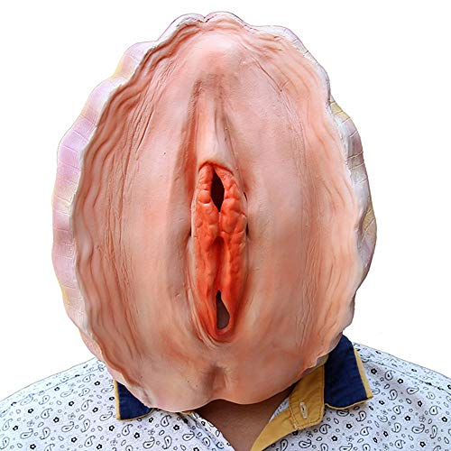 TAOtTAO Face Mask Halloween Maske Shell Abalone Kopf Prop Latex Halloween Eve Set Party Maske (Kinder Jason Kostüm)