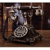 Guyuan Retro Telefon kontinentales festnetz Haupt antikes Telefon Mode kreative Telefon Retro Wireless Telefon l25cmxw20cmxh23cm