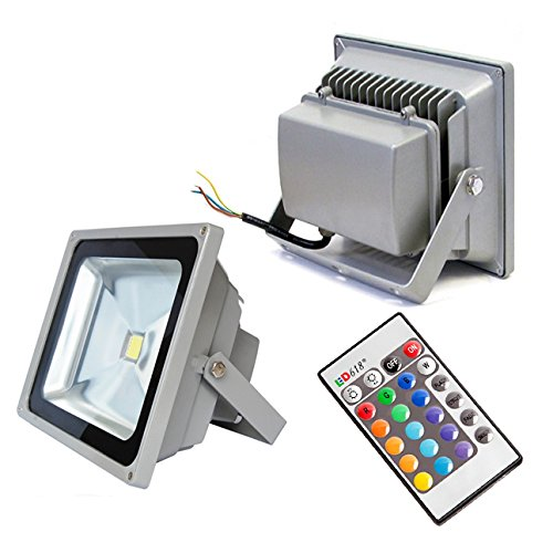 Glitz 20W Rgb Led Flood Light Outdoor Ip65