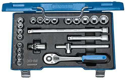 Gedore D 30 HMU-10 Set de douilles 3/8\