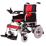 Ylwfdq Bequemer Elektrischer Rollstuhl - Faltbarer Hochleistungslithium-Batterie-Elektrischer Rollstuhl Benutzt Für Behinderte Ältere Elektrofahrzeuge/Steuerung Flexibel/Leicht