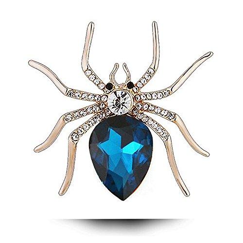 ween Spinne Modeschmuck Pin Brosche ()