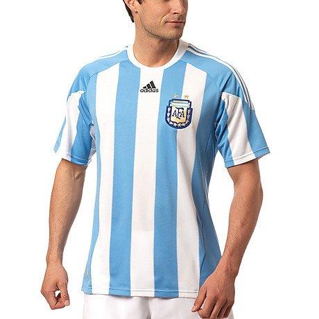 Adidas AFA Argentinien home Trikot WM 2010 P47066 XL (Home Trikot Argentinien)