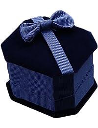 Sanwood Box Schmuckkästchen Schmuckbox Geschenkbox für Ring Ohrring Schmuck